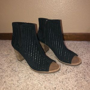 TOMS Peep toe Ankle Boots